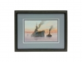 Battleship Watercolor